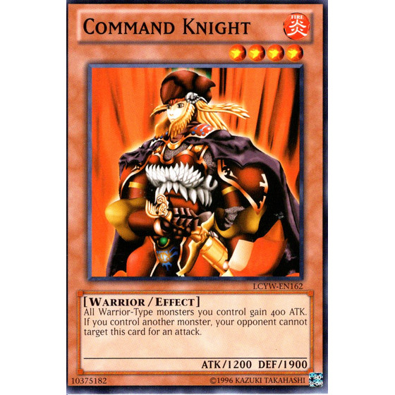 Command Knight - LCYW-EN162 - Common