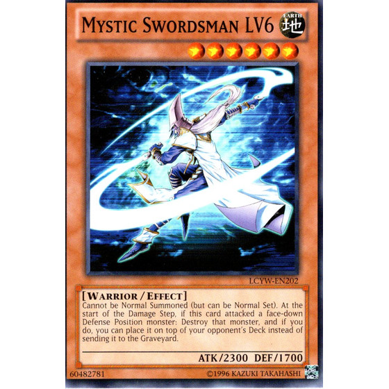 Mystic Swordsman LV6 - LCYW-EN202 - Common