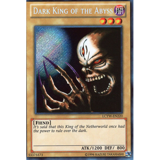 Dark King of the Abyss - LCYW-EN220 - Secret Rare