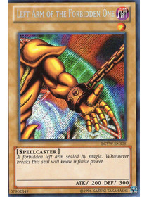 Left Arm of the Forbidden One - LCYW-EN305 - Secret Rare