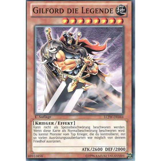 Gilford die Legende - LCJW-DE044 - Common