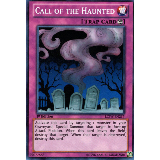 Call of the Haunted - LCJW-EN217 - Super Rare