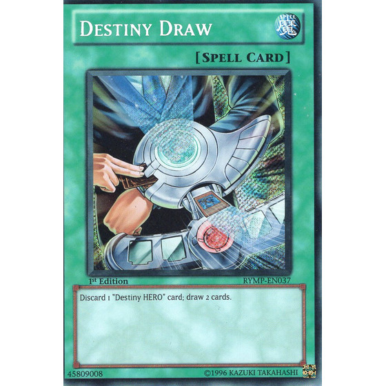 Destiny Draw - RYMP-EN037 - Secret Rare