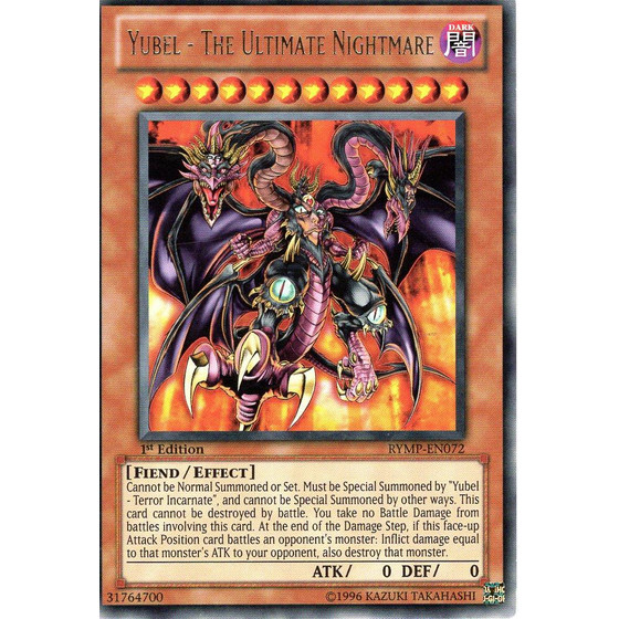 Yubel - The Ultimate Nightmare - RYMP-EN072 - Rare