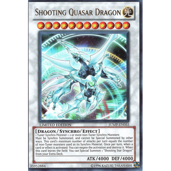 Shooting Quasar Dragon - JUMP-EN055 - Ultra Rare