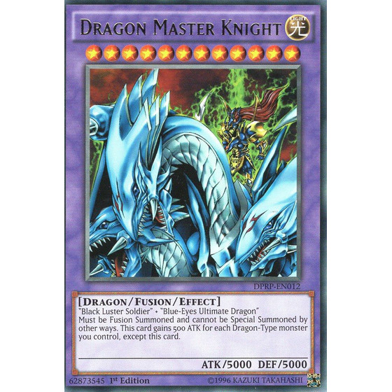 Dragon Master Knight - DPRP-EN012 - Rare