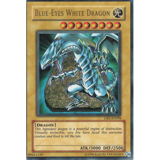 Blue-Eyes White Dragon - DB1-EN098 - Ultra Rare