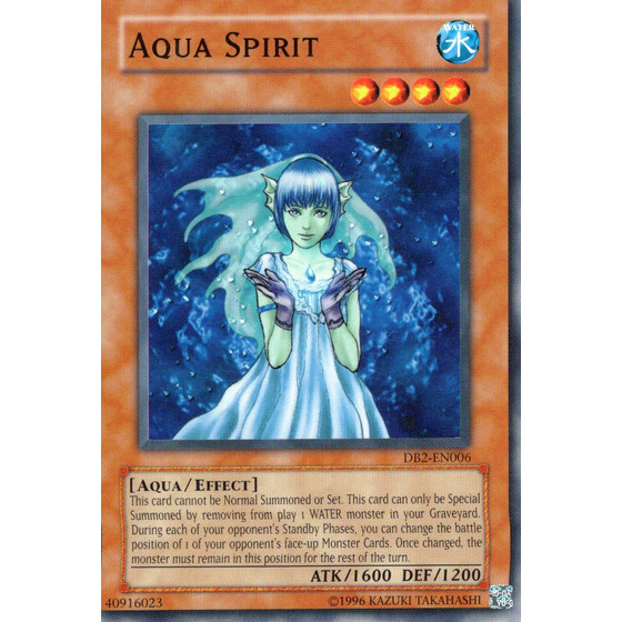 Aqua Spirit - DB2-EN006 - Common