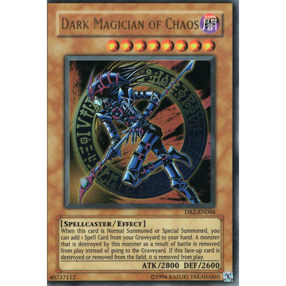 Dark Magician of Chaos - DR2-EN066 - Ultra Rare