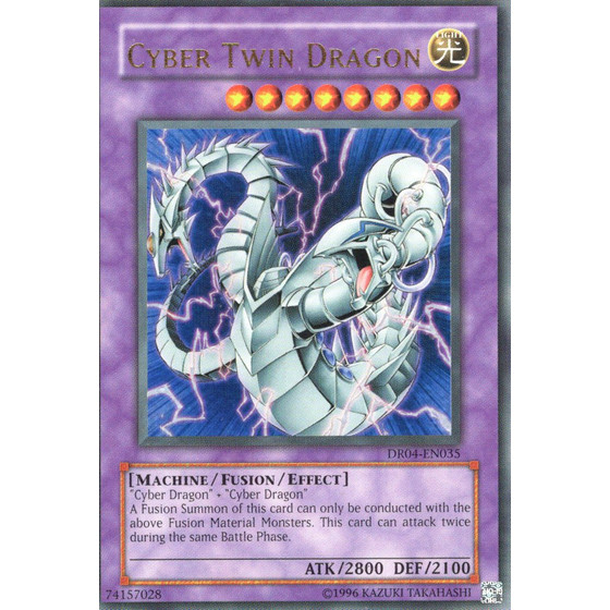 Cyber Twin Dragon - DR04-EN035 - Ultra Rare