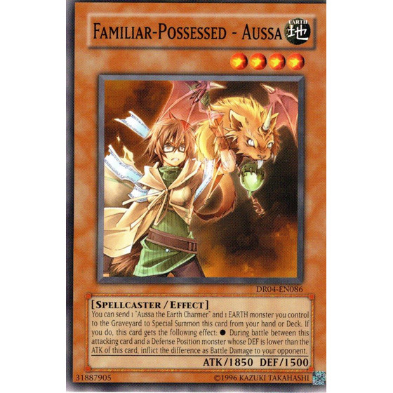Familiar-Possessed - Aussa - DR04-EN086 - Common