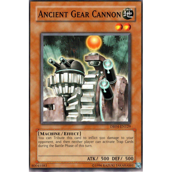 Ancient Gear Cannon - DR04-EN129 - Common