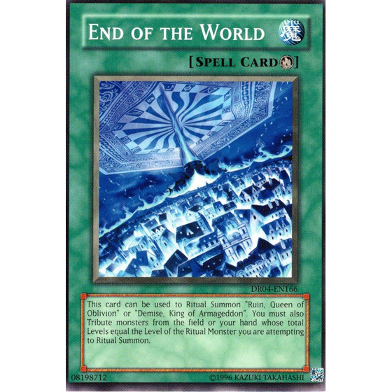 End of the World - DR04-EN166 - Common
