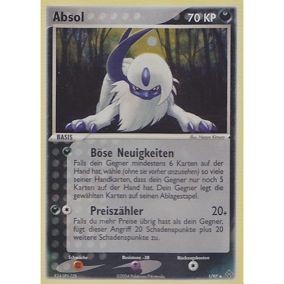 Absol - 1/97 - Holo