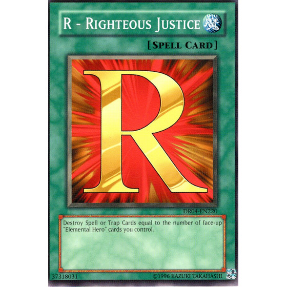R - Righteous Justice - DR04-EN220 - Common
