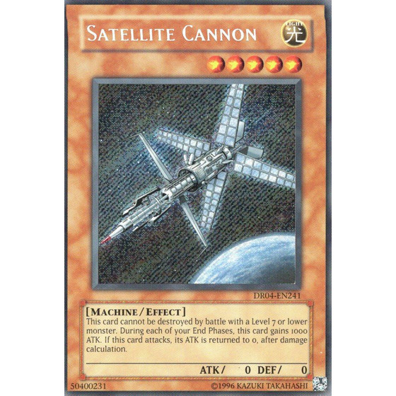 Satellite Cannon - DR04-EN241 - Secret Rare