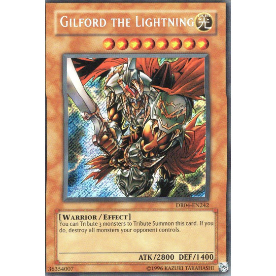 Gilford the Lightning - DR04-EN242 - Secret Rare