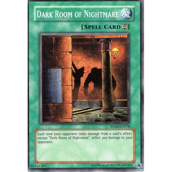Dark Room of Nightmare - RP02-EN078 - Common