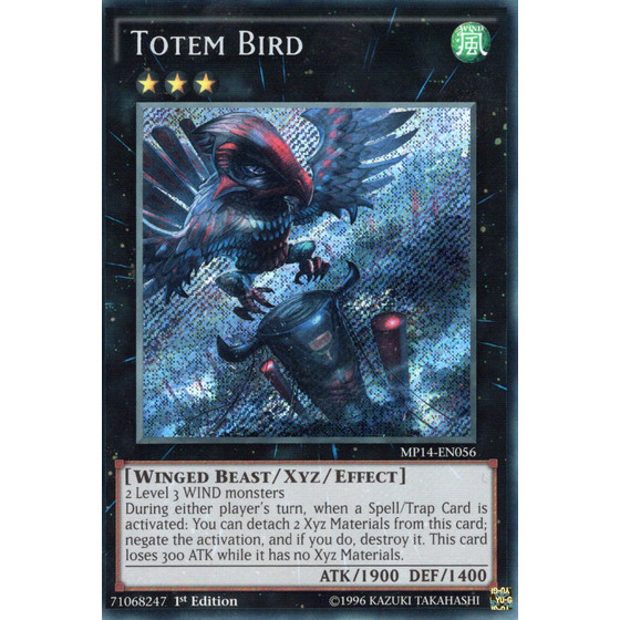 Totemvogel - MP14-EN056 - Secret Rare