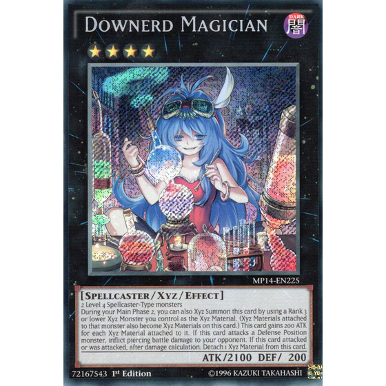 Betäubende Magierin - MP14-EN225 - Secret Rare