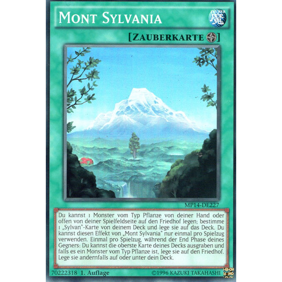 Mont Sylvania - MP14-DE227 - Super Rare