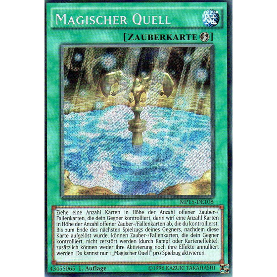Magischer Quell - MP15-DE108 - Secret Rare