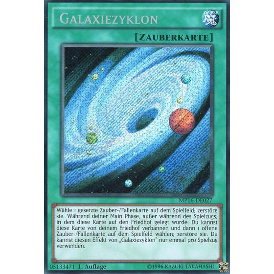 Galaxiezyklon - MP16-DE027 - Secret Rare