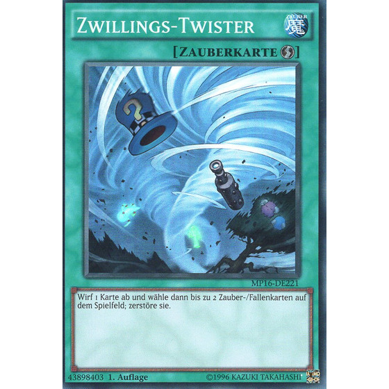 Zwillings-Twister - MP16-DE221 - Super Rare