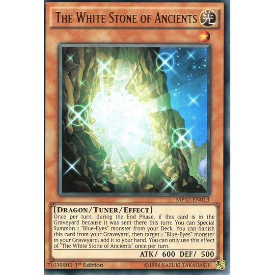The White Stone of Ancients - MP17-EN013 - Ultra Rare
