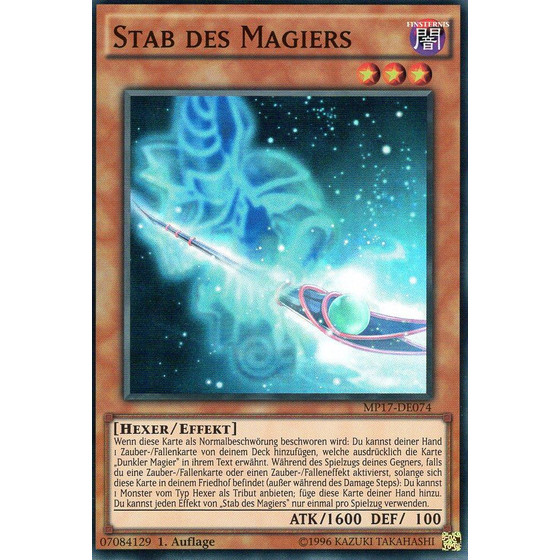 Stab des Magiers - MP17-DE074 - Super Rare