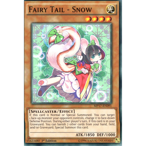 Fairy Tail - Snow - MP17-EN091 - Common