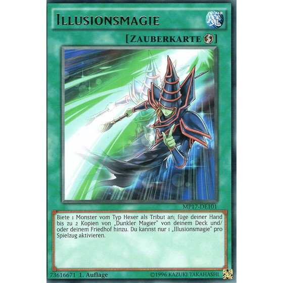 Illusionsmagie - MP17-DE101 - Rare
