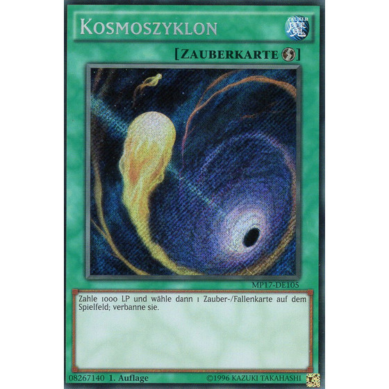 Kosmoszyklon - MP17-DE105 - Secret Rare