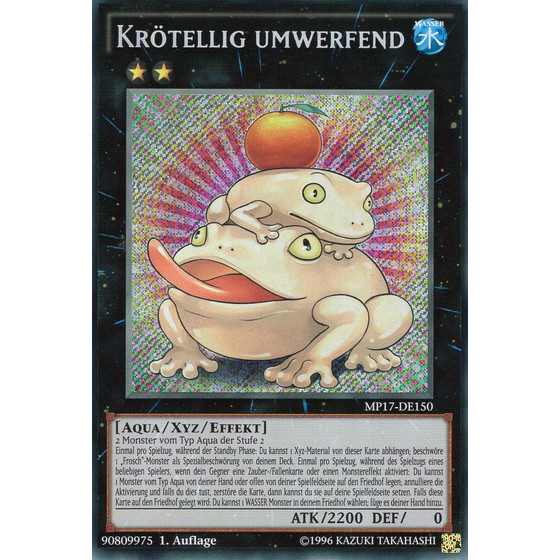 Krötellig umwerfend - MP17-DE150 - Secret Rare