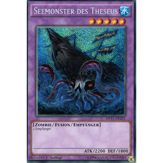 Seemonster des Theseus - MP17-DE231 - Secret Rare