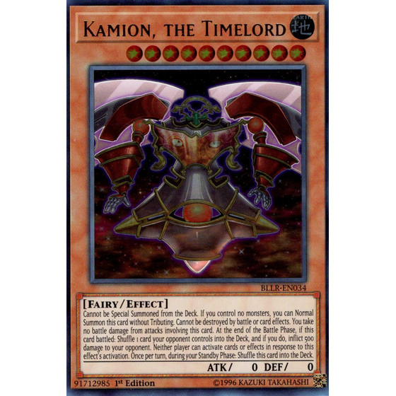Kamion, the Timelord - BLLR-EN034 - Ultra Rare