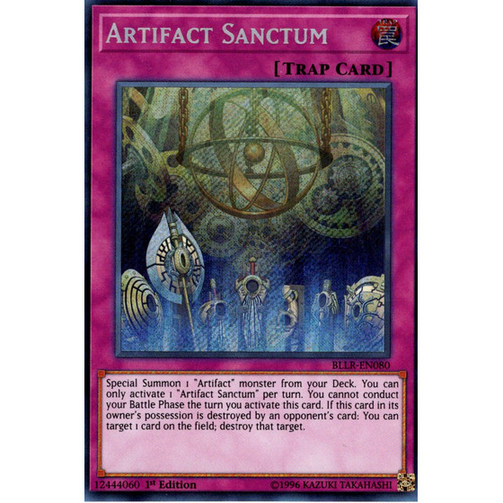 Artifact Sanctum - BLLR-EN080 - Secret Rare