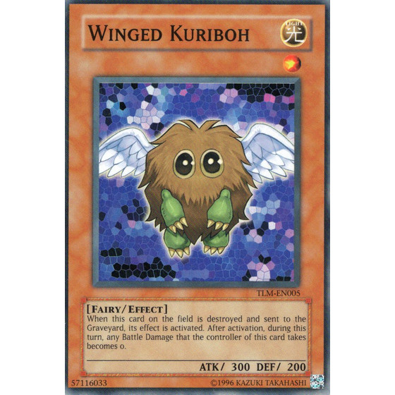 Winged Kuriboh - TLM-EN005 - Super Rare