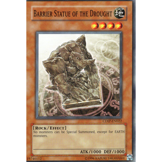 Barrier Statue of the Drought - CDIP-EN022 - Common