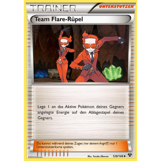 Team Flare-Rüpel - 129/146 - Uncommon