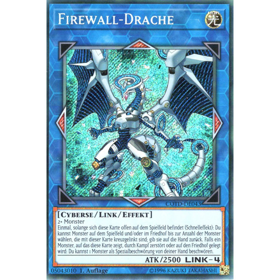 Firewall-Drache - COTD-DE043 - Secret Rare