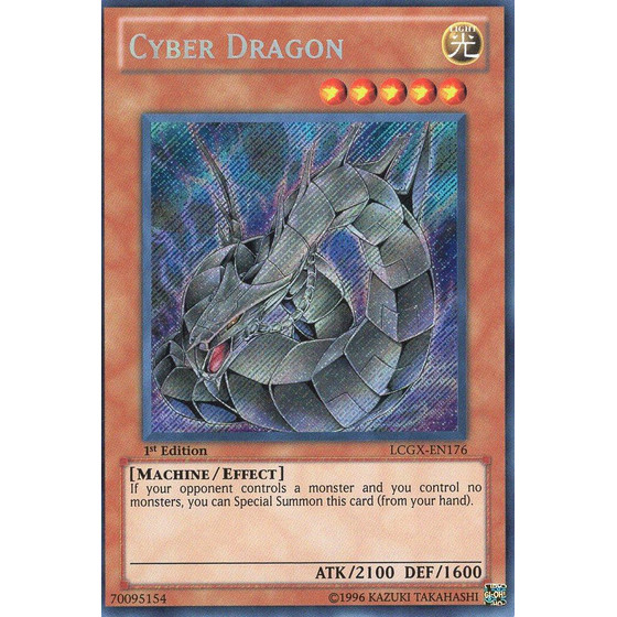 Cyber Dragon - LCGX-EN176 - Secret Rare