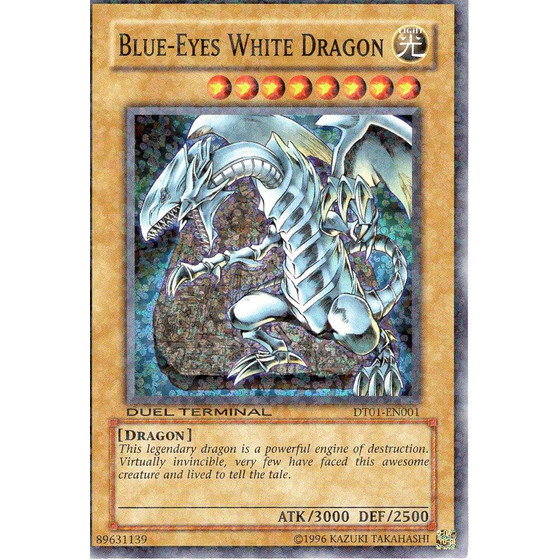 Blue-Eyes White Dragon - DT01-EN001 - Duel Terminal Super...
