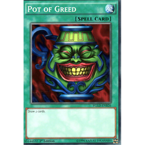 Pot of Greed - YGLD-ENB26 - Common