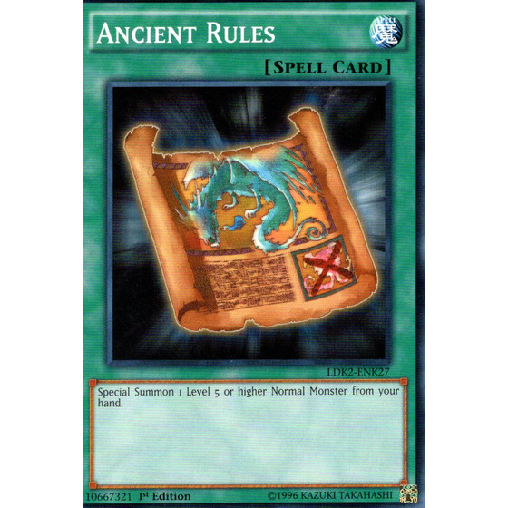 Ancient Rules - LDK2-ENK27 - Common