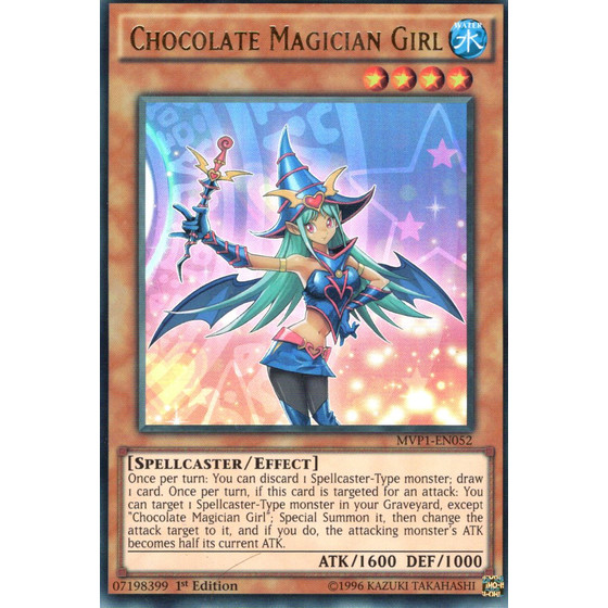 Chocolate Magician Girl - MVP1-EN052 - Ultra Rare