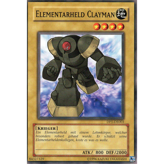 Elementar-HELD Clayman - DP1-DE003 - Common