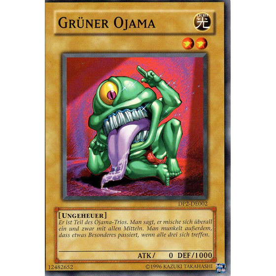 Grüner Ojama - DP2-DE002 - Common