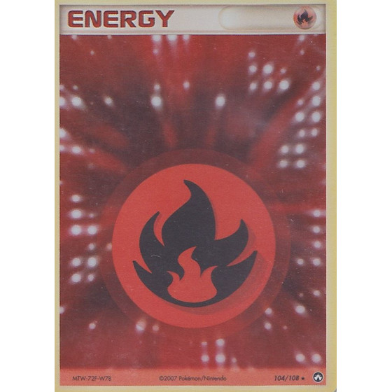 Feuer-Energie - 104/108 - Holo