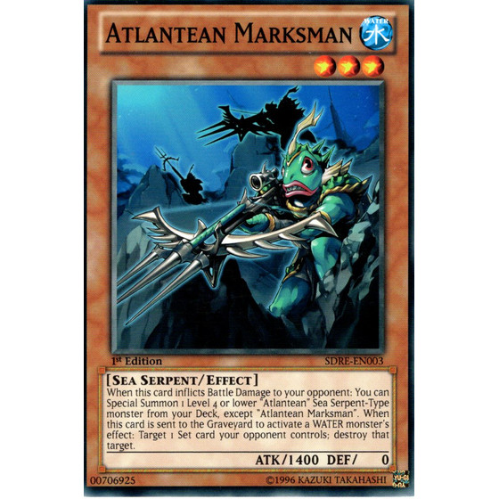 Atlantean Marksman - SDRE-EN003 - Common